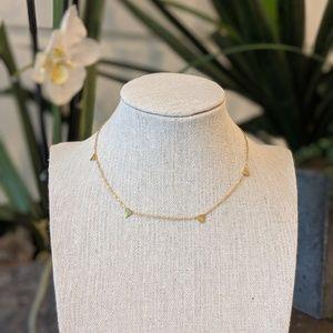 Jewelry - Gold Triangle Choker